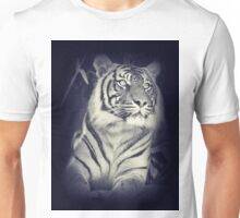 Black & White Sumatran Tiger Unisex T-Shirt