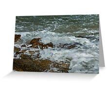 Wild Surf Greeting Card