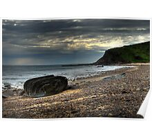 Hallet Foreshore Poster