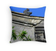 Oriental Visions Throw Pillow