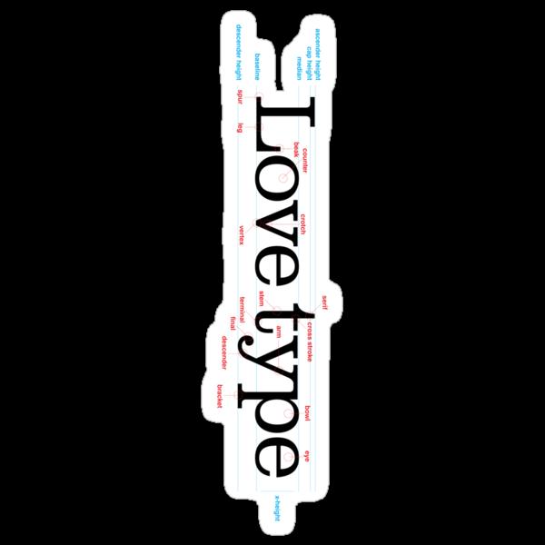 Love Type (b) by Adam Atteia