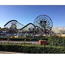 Christmas at Paradise Pier (DCA)  Photographic Print