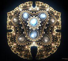 Ceremonial Shield by Peter Sdobnov