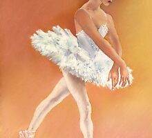 Odette Dancing in Swan Lake by Margaret Merry