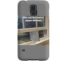Apple And Windows Samsung Galaxy Case/Skin
