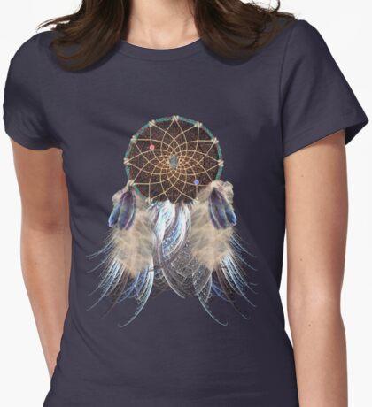 Dream Catcher Womens Fitted T-Shirt
