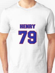 National football player Henry Taylor jersey 79 T-Shirt