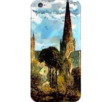 Lichfield Cathedral, Staffordshire iPhone Case/Skin