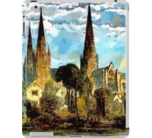 Lichfield Cathedral, Staffordshire iPad Case/Skin