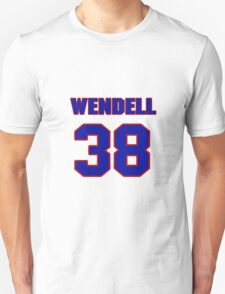 National football player Wendell Hayes jersey 38 T-Shirt