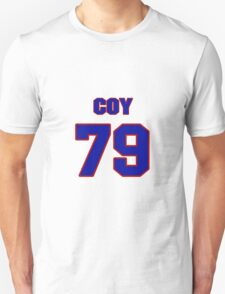 National football player Coy Bacon jersey 79 T-Shirt