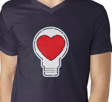 Let Love Light The Way ... Mens V-Neck T-Shirt