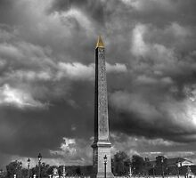 The obelisk... by jean-louis bouzou