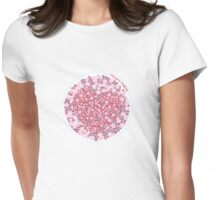 Colour Blind Test Womens Fitted T-Shirt
