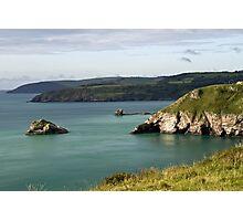 Turquoise seas Photographic Print