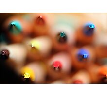 Colored Peaks Photographic Print