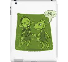 Dungeon Grind - Don't Be Jelly iPad Case/Skin