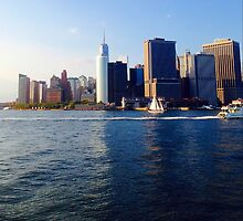 NYC as seen from Governor's Island by davidpesek