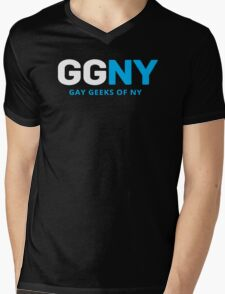 Official GGNY Logo - Light Mens V-Neck T-Shirt