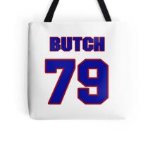 National football player Butch Lewis jersey 79 Tote Bag