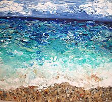 """""""Hollywood Beach"""" by Adela Camille Sutton"""