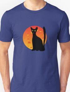 Black Cat & Moon T-Shirt