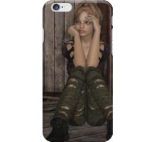 Faces of the Homeless-First in Series iPhone Case/Skin