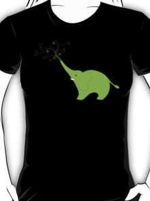 Little Squirt green T-Shirt