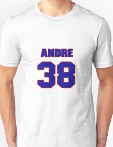 National football player Andre Hal jersey 38 T-Shirt