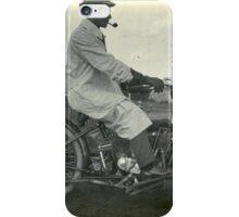 Smoke and Motorcycle iPhone Case/Skin
