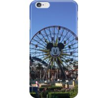Christmas at Paradise Pier (DCA)  iPhone Case/Skin