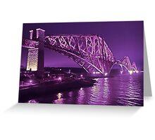 Edinburgh Forth Rail Bridge Greeting Card