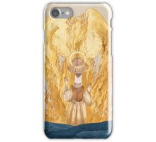 joan of Arc - inglorious end iPhone Case/Skin