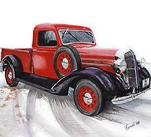 36 Dodge Pickup by ferrel cordle