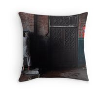 Thirsty Crows Throw Pillow
