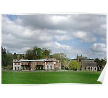 Okeover Hall and Manor Church  Poster