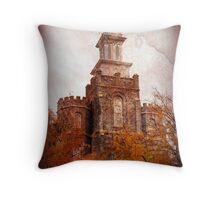 Logan LDS Temple - Cache Valley Utah Throw Pillow