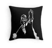 Darth Vader Graffiti Throw Pillow