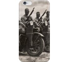 Riders in Formation iPhone Case/Skin
