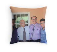 three generations Throw Pillow
