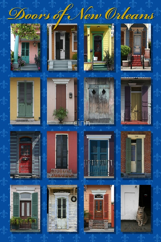 Doors of New Orleans by Heidi Hermes