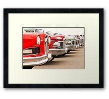 Edsel Meeting. Framed Print