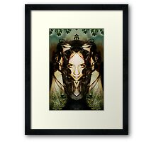 Unity with nature Framed Print