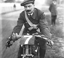 Motorcycles and Mustaches by Vintagee