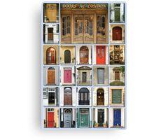 Doors of London Canvas Print