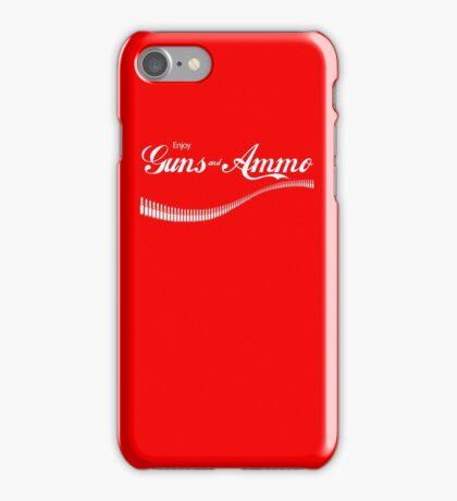 Love Guns And Ammo? iPhone Case/Skin