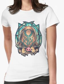 Piloswine  Womens Fitted T-Shirt
