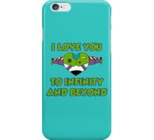 Infinity and beyond iPhone Case/Skin