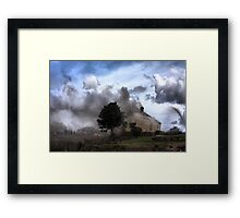 Where There's Smoke ... Framed Print