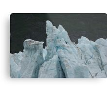 Blue Glaciers Metal Print